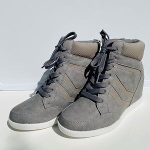 JustFab Sneaker Wedges
